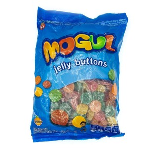 GOMITAS MOGUL JELLY BUTONS FRUTALES X 1 KG.