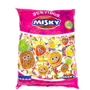 CARAMELO MASTICABLE MISKY X 800 GR.