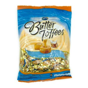 CARAMELO BUTTER TOFFEES LECHE X 150 GR.