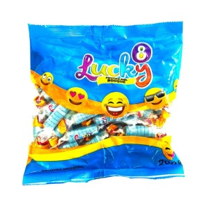 PASTILLAS LUCKY FRUTOS DEL BOSQUE X 200 GR.