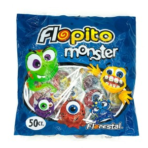 CHUPETIN FLOPITO MINI MONSTER X 50 U.