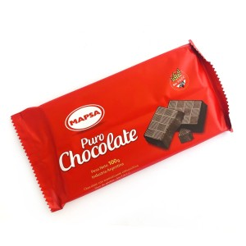 CHOCOLATE x 100 GRS.
