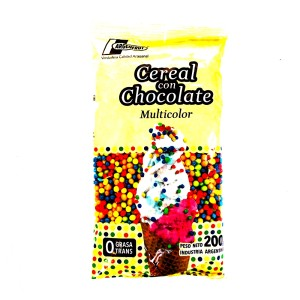 CEREAL CHOCOLATE MULTICOLOR